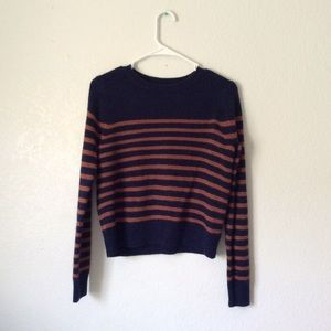 Super Soft Striped Knitted Sweater